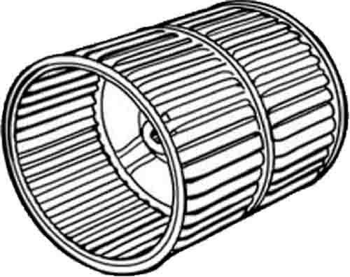 Air Source Blower Wheel - Suburban 350206 Furnace Room Air Wheel