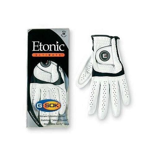 Etonic Ultimate G Sok Golf Glove (Mens Right Medium) (Etonic Mens Golf Glove)
