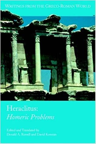 Heraclitus: Homeric Problems (Writings from the Greco-Roman World, # 14)