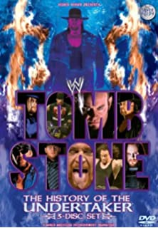 wwe tombstone the history of the undertaker dvd