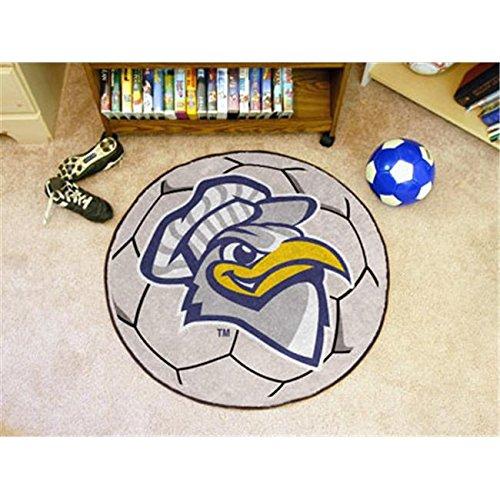 (OKSLO FANMATS 2183 University Tennessee Chattanooga Soccer Ball Rug 29 in. diameter)