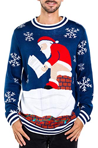 Santa Pooping Ugly Christmas Sweater