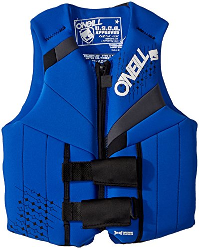 O'Neill Teen Reactor USCG Life Vest, Pacific/Coal/Black, 75-125 lbs ()