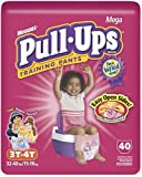 Health & Personal Care : Huggies Pull-Ups Training Pants with Learning Designs, Girls, 3T-4T, 40-Count