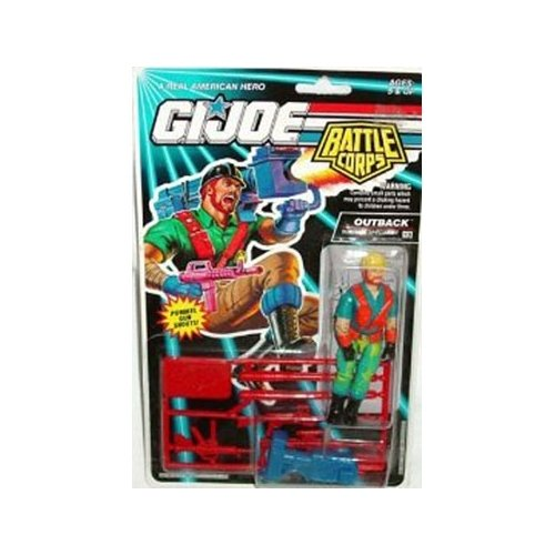 GI Joe Battle Corps Outback - Survival Specialist Action (Vintage Gi Joe Accessories)