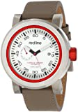 Red Line Men's RL-50047-02RD-TANST Torque Sport Silver Dial Tan Leather Automatic Watch