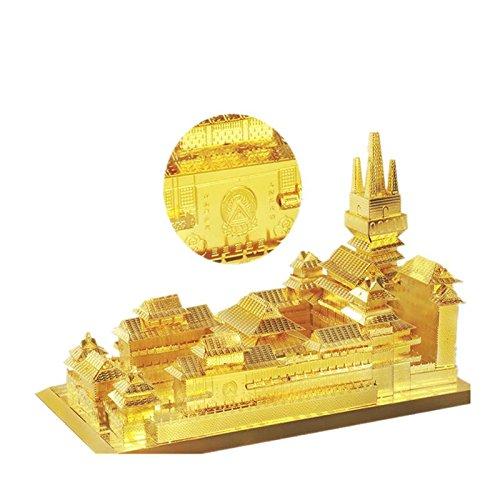 Best buy MAUBHYA MU DIY 3D Metal Jing'an Temple