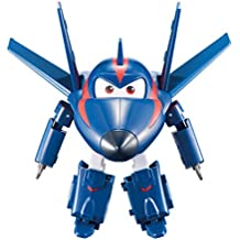 """Super Wings - Transforming Agent Chase Toy Figure 
