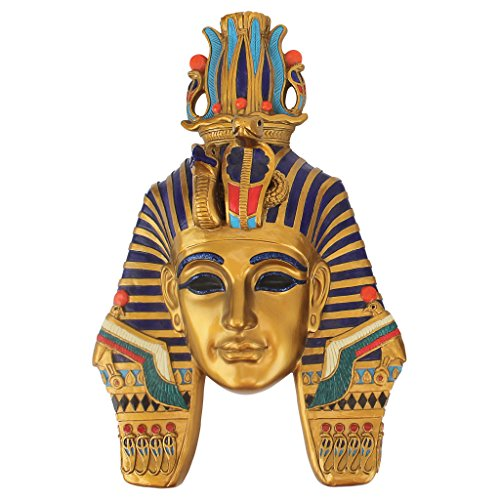 Toscano Mask (Design Toscano Mask of Egyptian Royalty Mighty Pharaoh Wall Sculpture, Single)