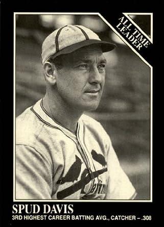 Amazoncom 1991 Conlon Tsn Baseball Card 269 Spud Davis