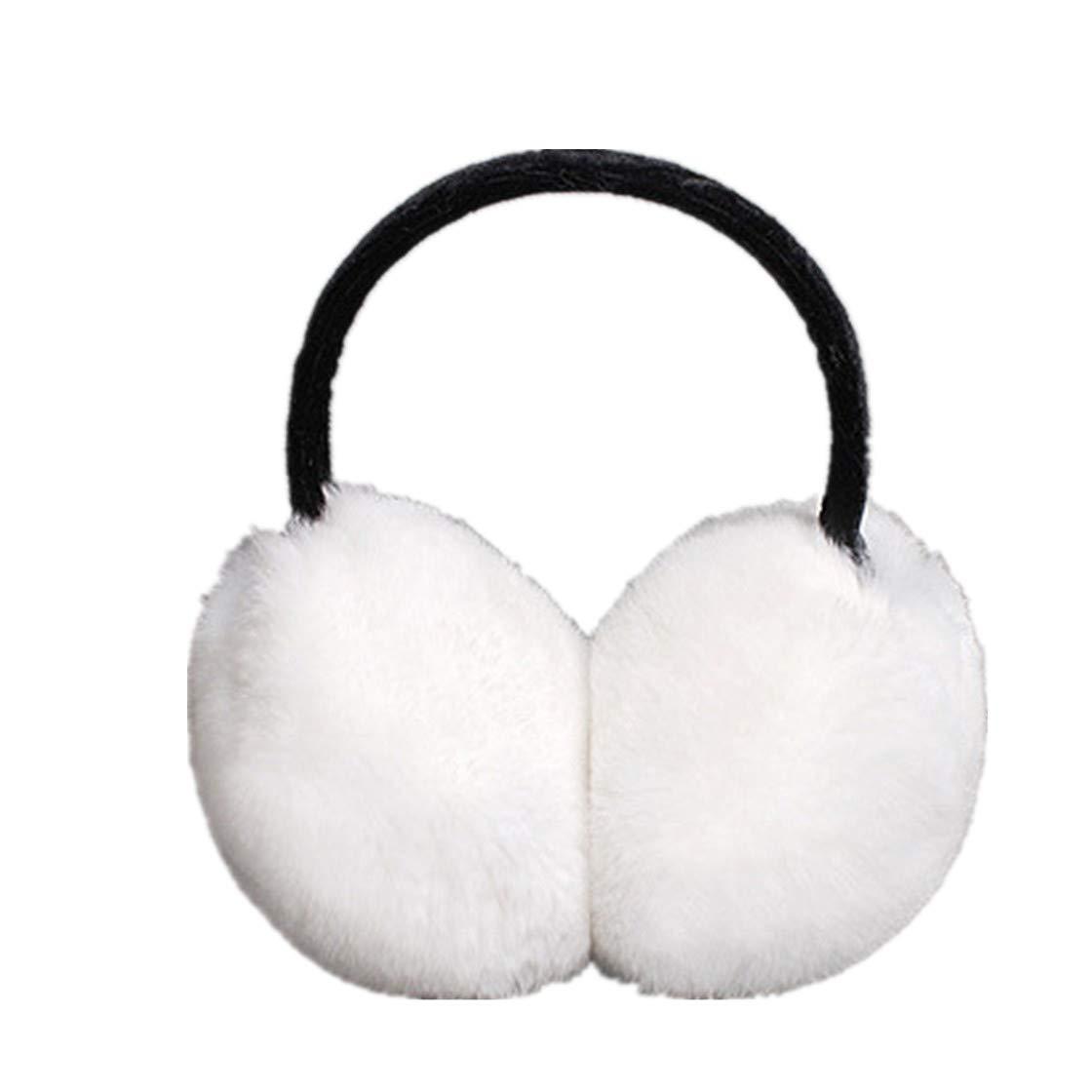 Women Lovely Fur Earmuffs Winter Keep Warm Ear Protector Hair Accessories Gift