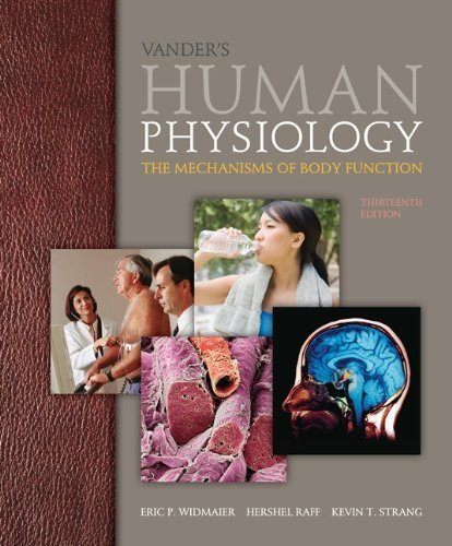 By Eric Widmaier - Vander's Human Physiology with ConnectPlus Access Card (13th Edition) (2/26/13) pdf