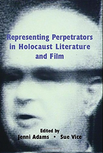 Download Representing Perpetrators in Holocaust Literature and Film PDF