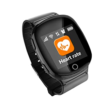 Amazon com: MrRong Smart Watch Bracelet, GPS + WiFi Health
