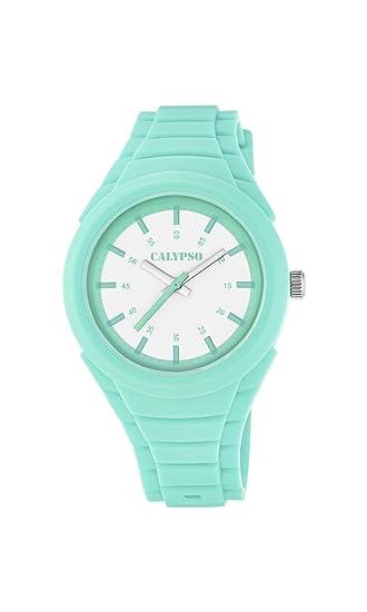 Calypso Reloj Análogo clásico para Unisex de Cuarzo con Correa en Plástico K5724/1: Calypso: Amazon.es: Relojes