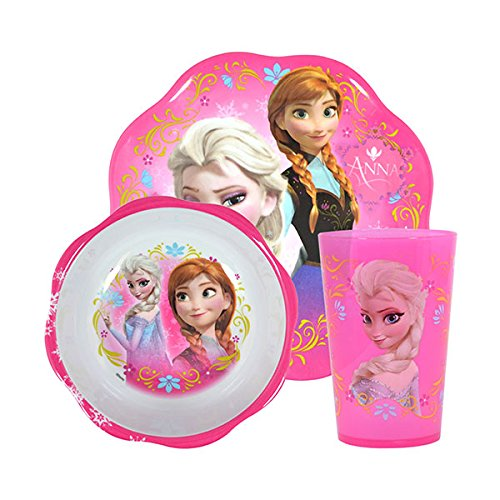 Disney Frozen Mealtime Plastic Plate