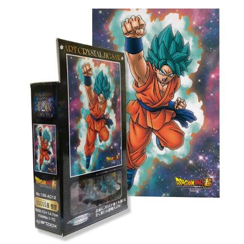 126-pieza de rompecabezas de Dragon Ball Goku Super SSGSS nieto de Frost Art Jigsaw (10x14.7cm)