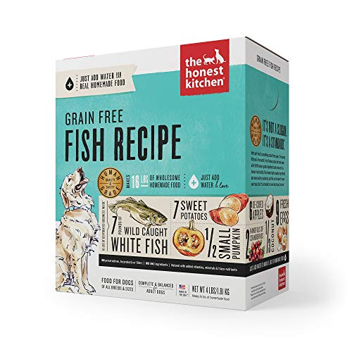 The Honest Kitchen Human Grade Dehydrated Grain Free Fish Dog Food 4 lb - Zeal