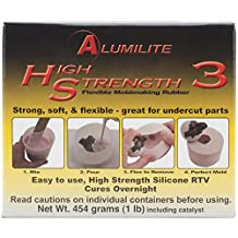 Amazing Casting Products Alumilite High Strength 3 Liquid Mold Making Rubber, 1-Pound, Pink