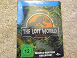JURASSIC PARK TRILOGY 1 2 3 Lost World (Blu-ray Steelbook) [Region-Free German Import; Limited Edition; Sold Out]