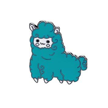Yesiidor Sheep Brooch Pin Fashion Cute Cartoon Animal Enamel Brooches Lapel  Pins Badge Clothing Bag Decor