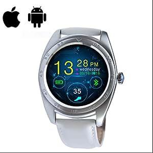 Smart Watch Mujer Reloj Inteligente con Alertas de mensajes,Contador de Calorías,Análisis de