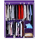 Homdox Wardrobe Closet organizer,Purple
