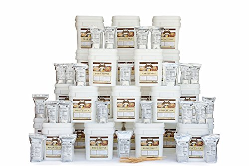 Valley Food Storage Long Term Pantry Supply of Freeze Dried Survival Food Kit - 12 Month Premium by Valley Food Storage