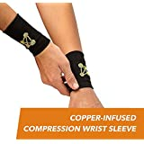 CopperJoint – Copper-Infused Compression Wrist Sleeve...