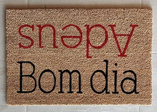EVIDECO 1403404 Doormat, Bom Dia Adeus