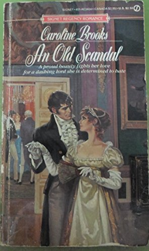 book cover of An Old Scandal