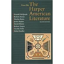 Harper American Literature, Volume I (2nd Edition)