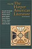 img - for Harper American Literature, Volume I (2nd Edition) book / textbook / text book