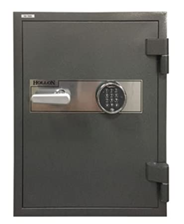 Hollon HS-750E 2 Hr. Fireproof Home Office Safe, 2.43 cu. ft., Electronic Keypad Lock Charcoal Gray