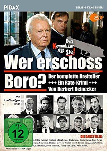 Wer erschoss Boro? / Der komplette 3-teilige Rate-Krimi von Herbert Reinecker (Pidax - Boro Shop The