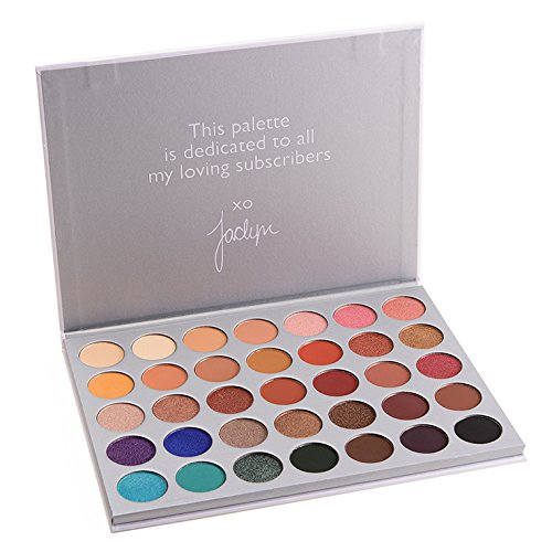 Morphe X Jaclyn Hill - The Jaclyn Hill Eyeshadow Palette by Morphe Brushes