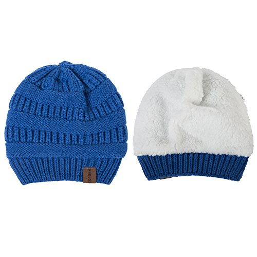 REDESS Baby Boy Winter Warm Fleece Lined Hat, Infant Toddler Kids Beanie Knit Cap for Girls and Boys [0-3years] by REDESS (Image #1)