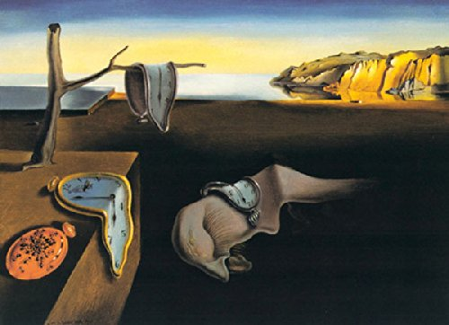 (The Persistence of Memory, c.1931 Art Print by Salvador Dalí 14 x 11in)
