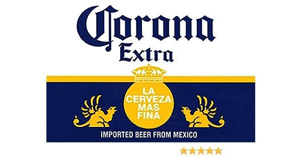 Amazon Corona Poster La Cerveza Mas Fina Delicious Mexican