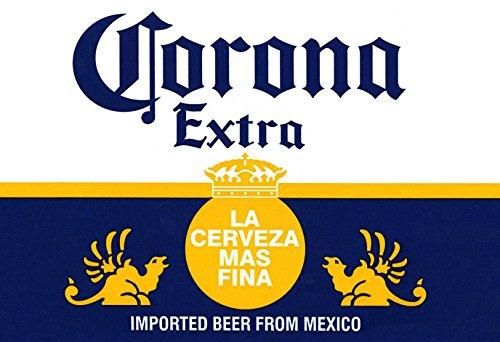 Corona Poster, La Cerveza Mas Fina, Delicious Mexican Beer,