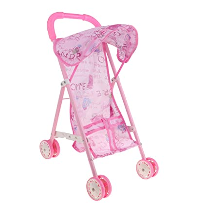Amazon.com: Fityle Newborn Baby Doll Stroller Foldable Baby ...