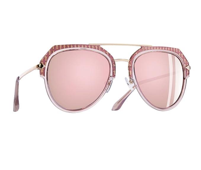 Gafas De Sol Espejo Mujer Polarizadas, Gafas de sol piloto aviador mujer, Gafas polarizadas