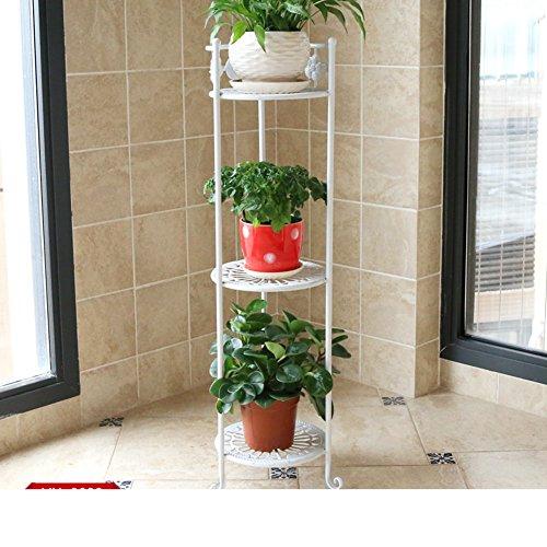 durable modeling wrought iron/multi-layer floor stand/corner pot rack/Balcony pot flower/living room set-A
