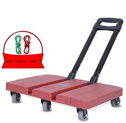 229cbc470881 Amazon.com: YWGWC Utility Carts Folding Trolley 440lbs / 200kg ...
