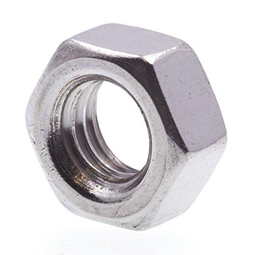 Prime-Line 9120324 Machine Screw Hex Nut, M5-0.8, Metric, Grade A2-70 Stainless Steel, Pack of (Prime Line Screws)