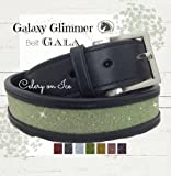 Celery Green Belt - Sparkle Bl