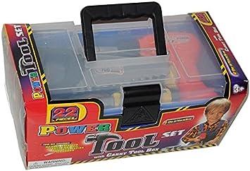 Caja herramientas 22 piezas: Amazon.es: Juguetes y juegos