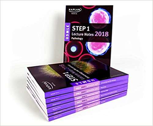 USMLE Step 1 Lecture Notes 2018: 7-Book Set (Kaplan Test