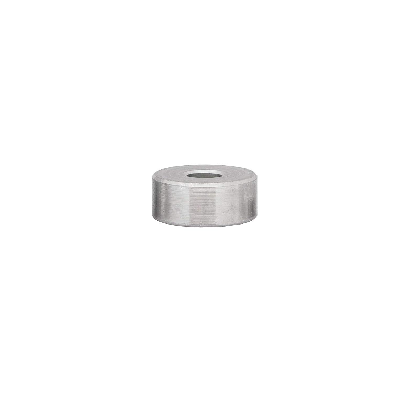 FASTON Aluminium Distanzh/ülsen M8 /Ø innen 8,5 mm 4 St/ück H/ülsen Abstandsh/ülsen Buchse Distanzbuchsen Abstandsbuchsen Schildhalter /Ø Au/ßen 24 mm L/änge 20 mm