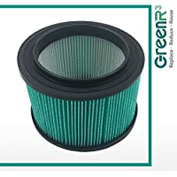 GreenR3 1-PACK HEPA Air Filters Vacuum Cleaners for Craftsman 16950 fits 3 4 0.75 GAL 113 125 9-16950 Model Series Replacement Parts Tool Accessories Part Number PN and more